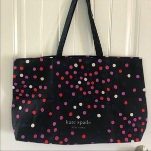 Kate Spade Polka Dot Tote Extra Large Tote Bag